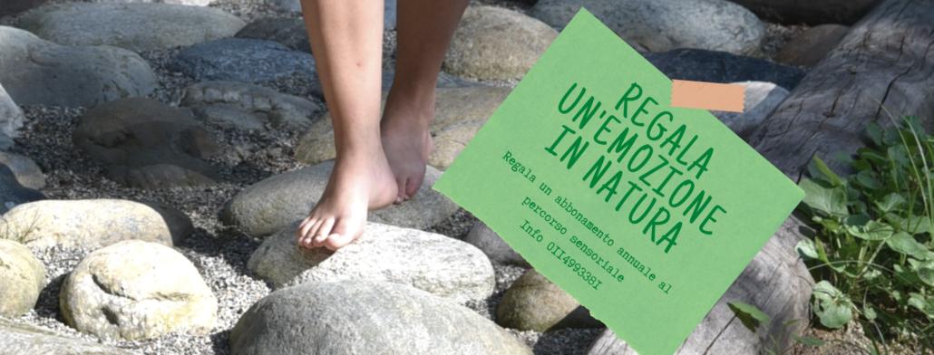 abbonamento percorso barefooting parco la mandria