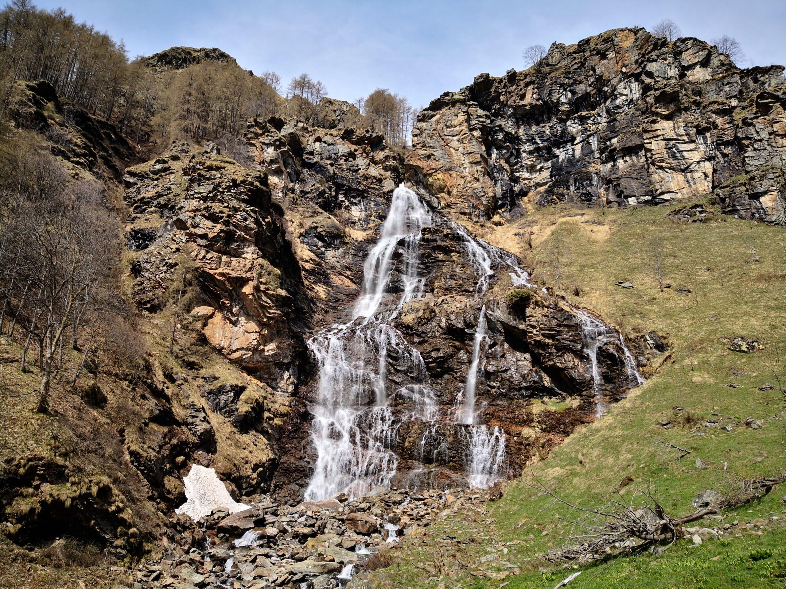 Vallone del Roc - Cascata